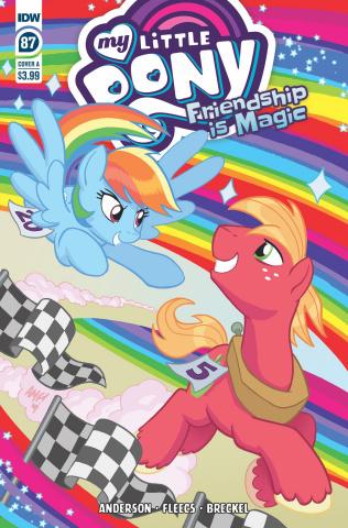 My Little Pony: Friendship Is Magic #87 (Fleecs Cover)