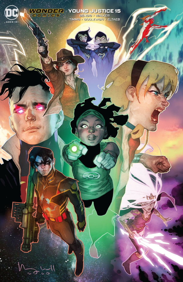 Young Justice #15 (Ben Caldwell Cover)