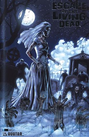 Escape of the Living Dead #3 (Platinum Foil Cover)