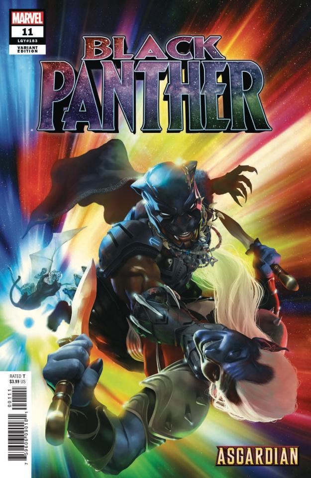 Black Panther #11 (Rahzzah Asgardian Cover)