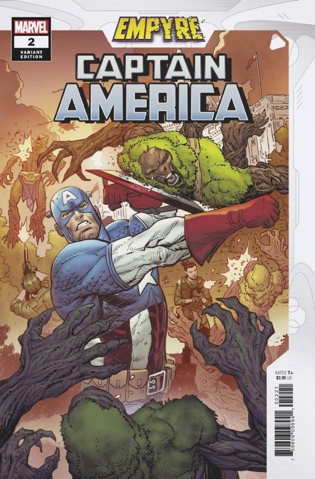 Empyre: Captain America #2 (Luke Ross Cover)