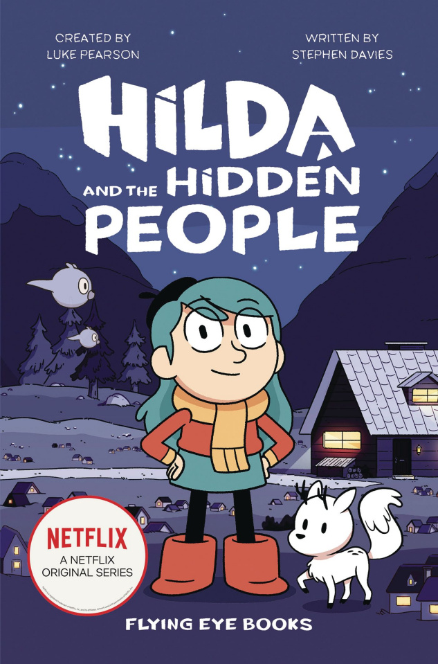 Hilda Book 1: Hilda and the Hidden People