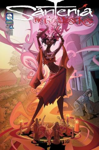 Santeria: The Goddess Kiss #4 (Webster Cover)