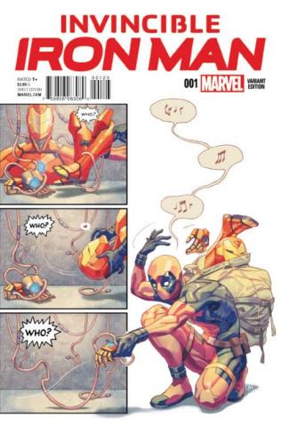 Invincible Iron Man #1 (Putri Party Cover)