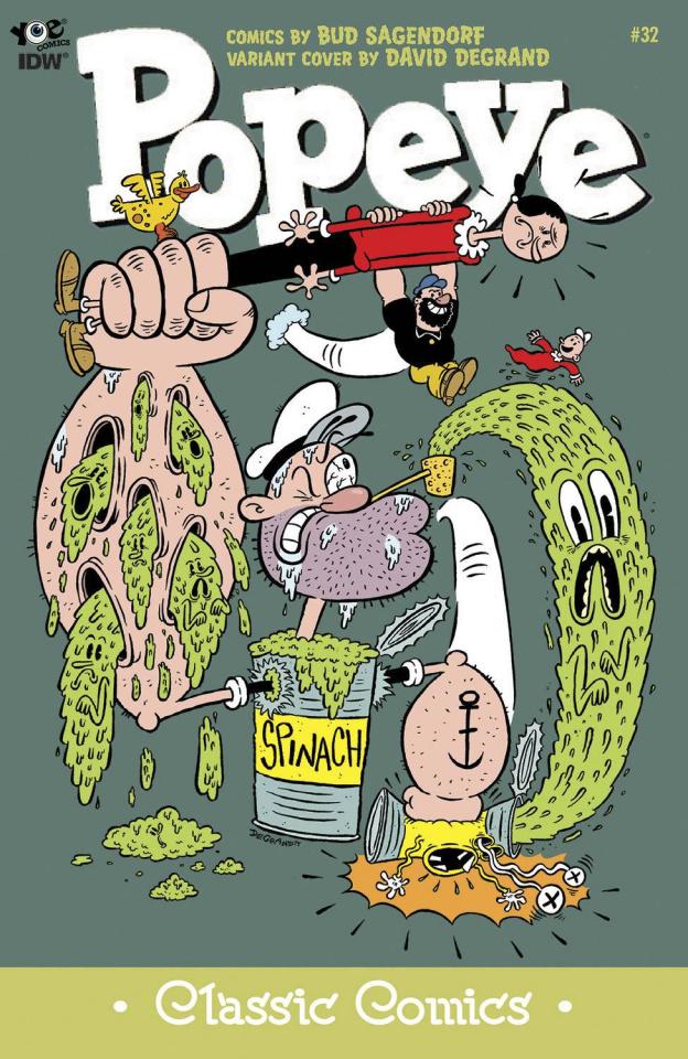 Popeye Classics #32 (10 Copy Cover)