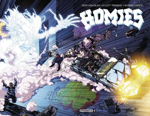 Homies #3 (Huerta Cover)