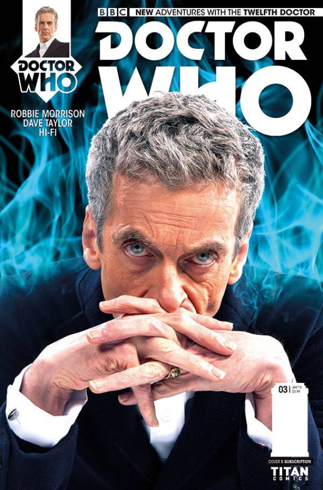 Doctor Who: New Adventures with the Twelfth Doctor #3 (Subscription Cover)