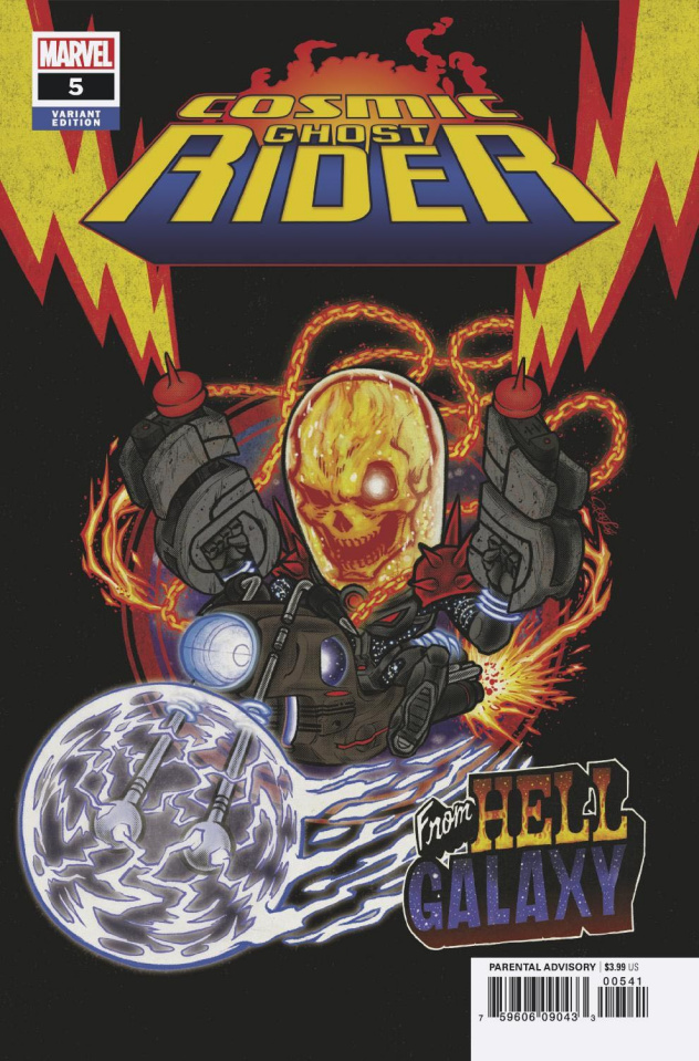 Cosmic Ghost Rider #5 (Superlog Cover)