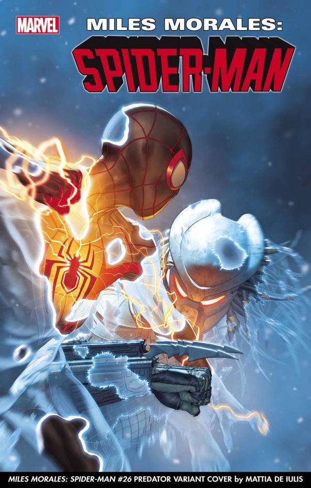 Miles Morales: Spider-Man #26 (De Iulus Predator Cover)