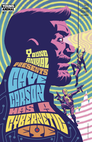Cave Carson Has a Cybernetic Eye #9 (Variant Cover)