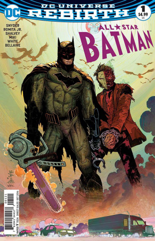 All-Star Batman #1 (Romita Cover)