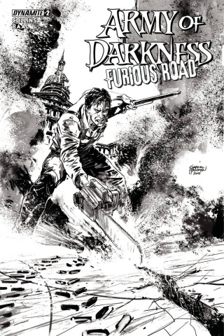 Army of Darkness: Furious Road #2 (10 Copy Cover)