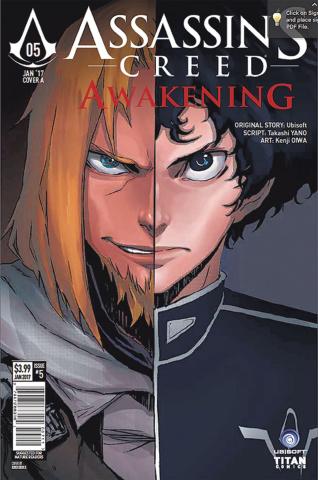 Assassin's Creed: Awakening #5 (Kenji Cover)
