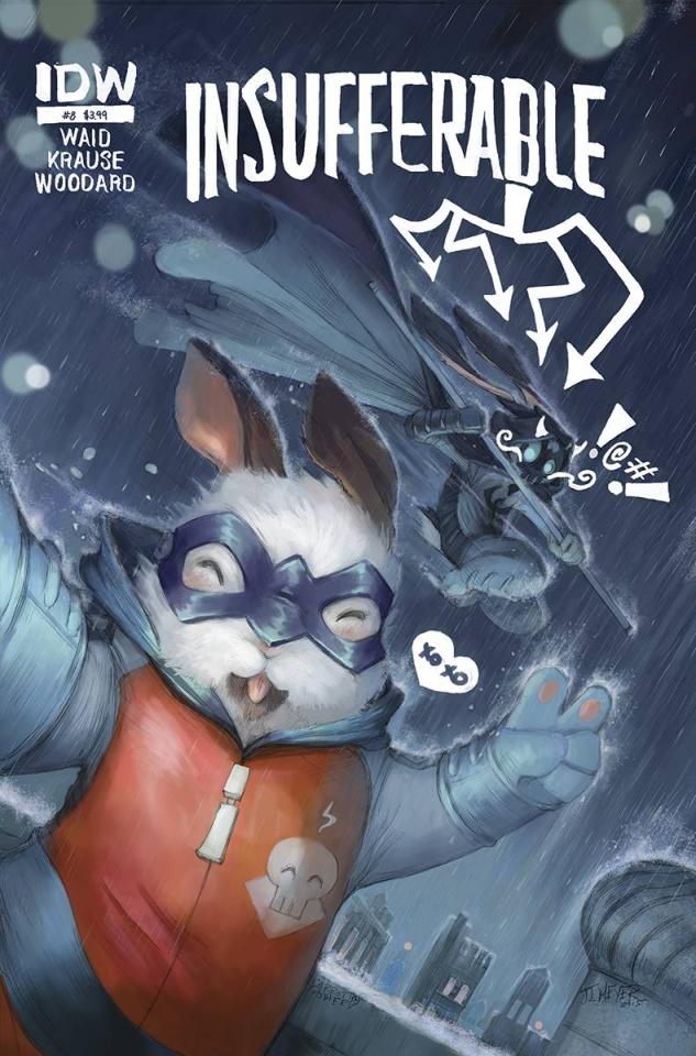 Insufferable #8 (Subscription Cover)