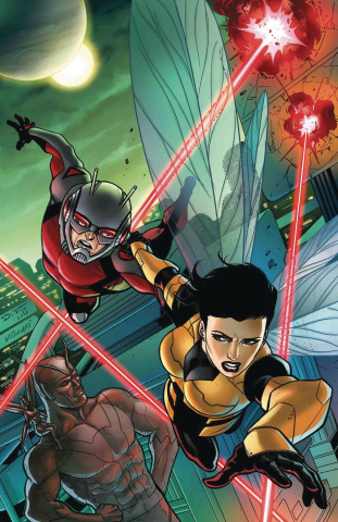 Ant-Man and The Wasp: Living Legends #1