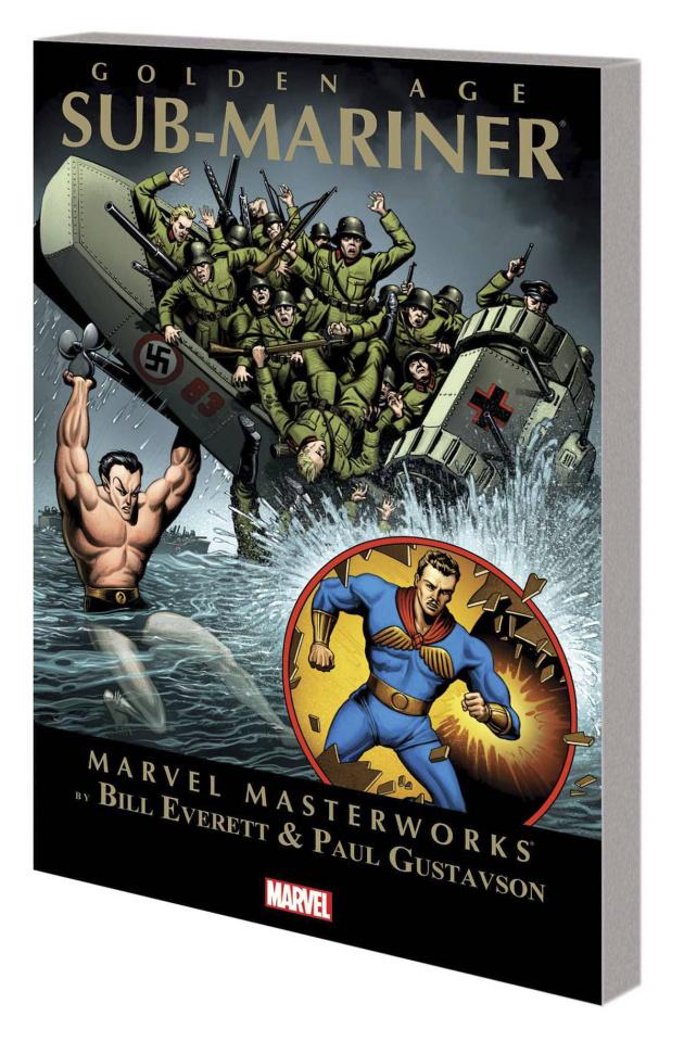 Golden Age Sub Mariner Vol. 1 (Marvel Masterworks)