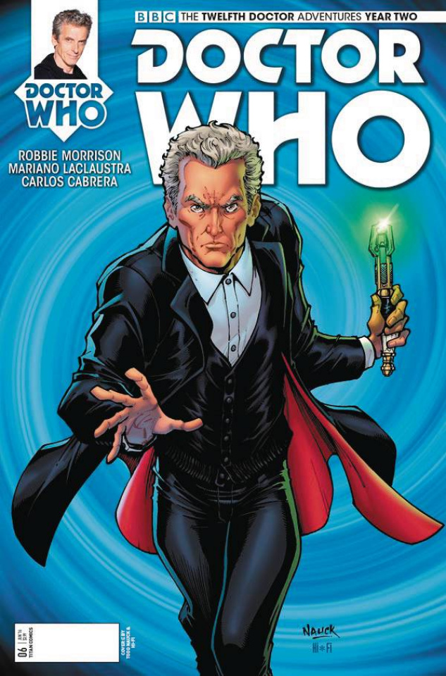 Doctor Who: New Adventures with the Twelfth Doctor, Year Two #6 (Nauck Cover)