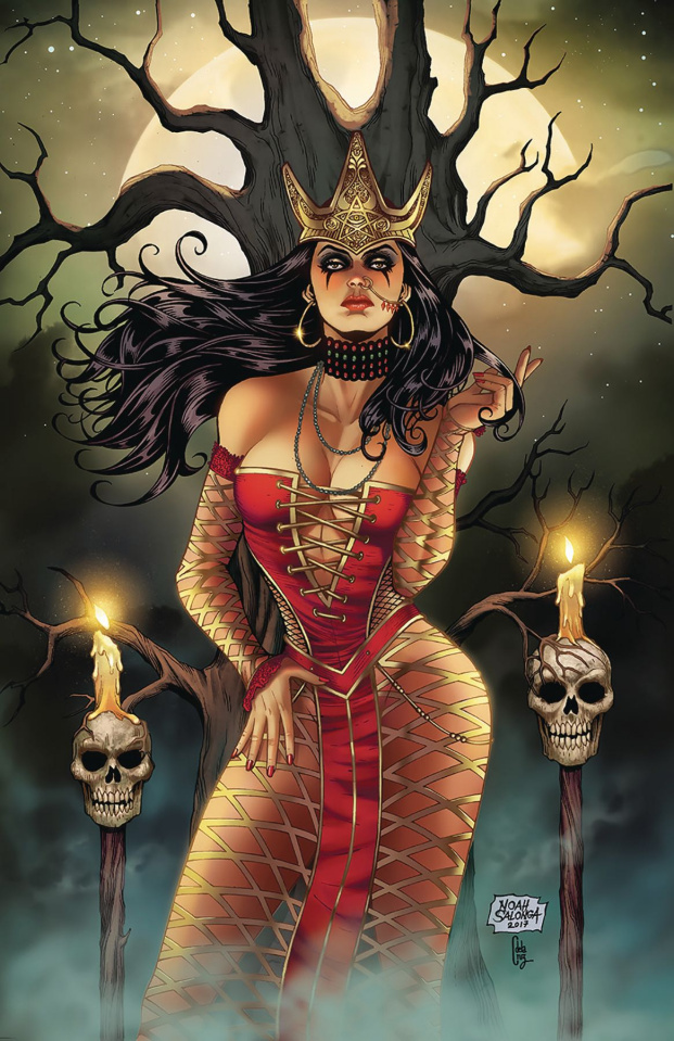 Grimm Fairy Tales: Tarot #6 (Salonga Cover)