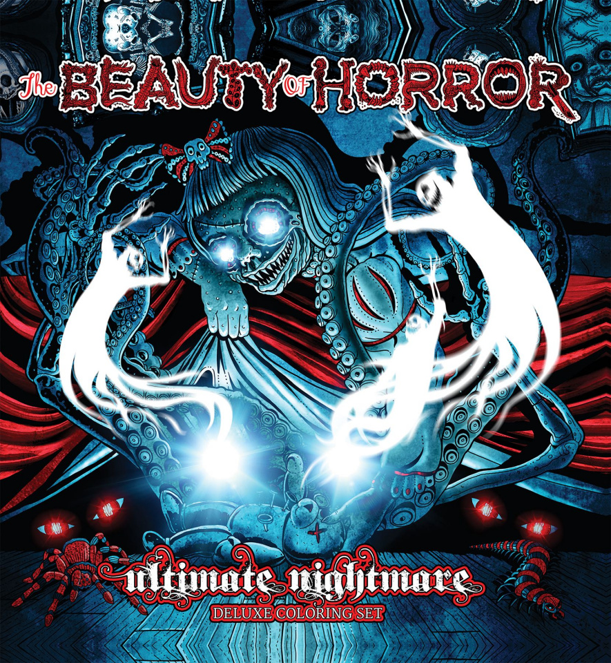 The Beauty of Horror: Ultimate Nightmare Coloring Set