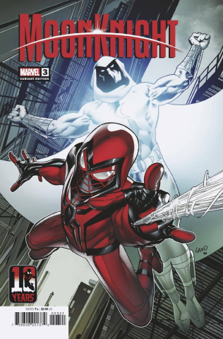 Moon Knight #3 (Land Miles Morales 10th Anniversary Cover)