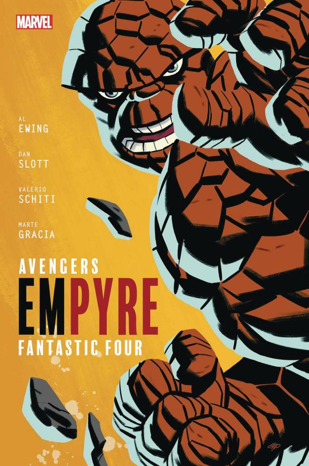 Empyre #1 (Michael Cho FF Cover)