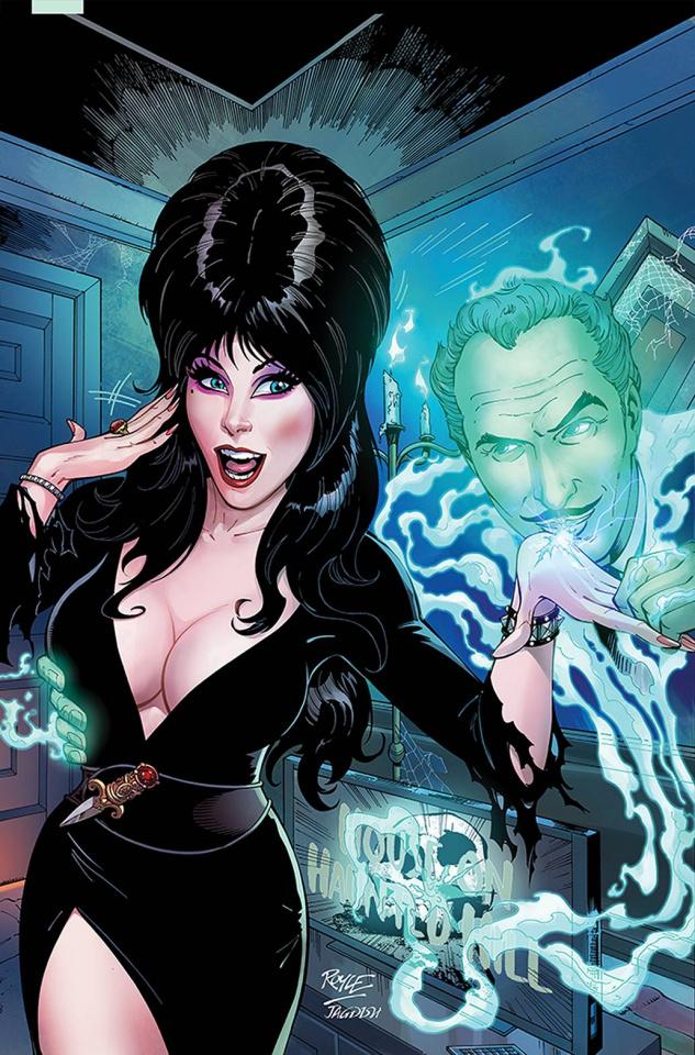 Elvira Meets Vincent Price #1 (Royle Virgin Cover)