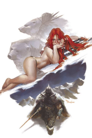 The Cimmerian: The Frost Giant's Daughter #2 (10 Copy Mercado Virgin Cover)