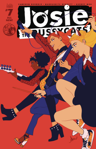 Josie and The Pussycats #7 (Audrey Mok Cover)