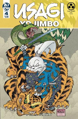 Usagi Yojimbo #4 (Sakai Cover)