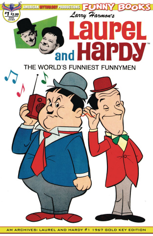 Laurel and Hardy #1 (1967 Cover)