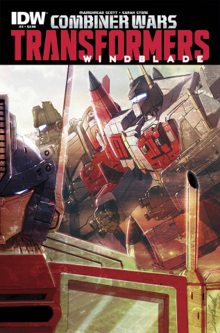 The Transformers: Windblade - Combiner Wars #3 (Subscription Cover)