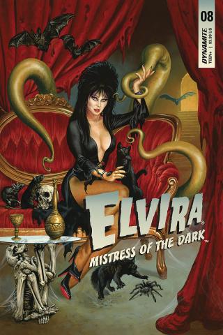 Elvira: Mistress of the Dark #8 (Jusko Cover)
