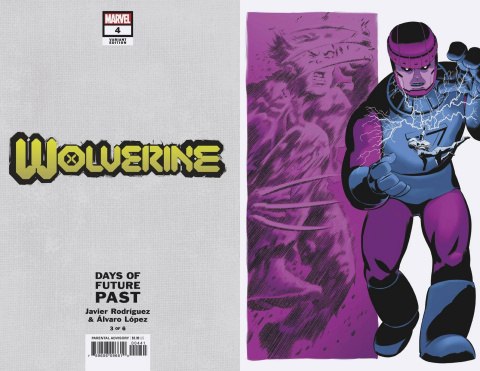 Wolverine #4 (Rodriguez Days of Future Past Cover)