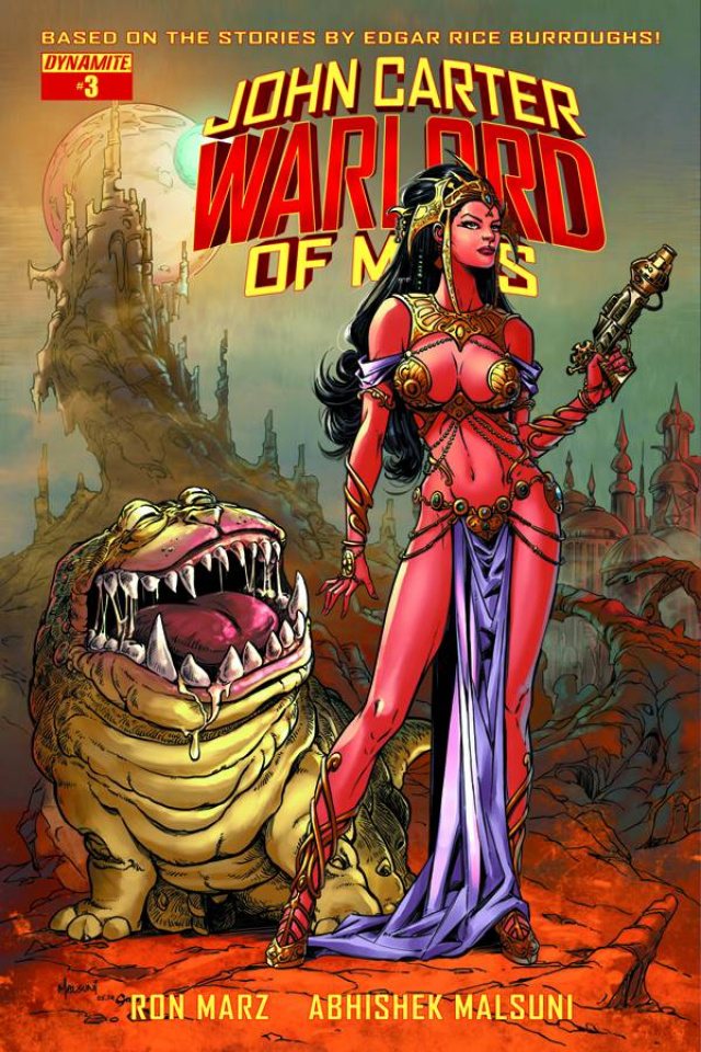 John Carter: Warlord of Mars #3 (Subscription Cover)