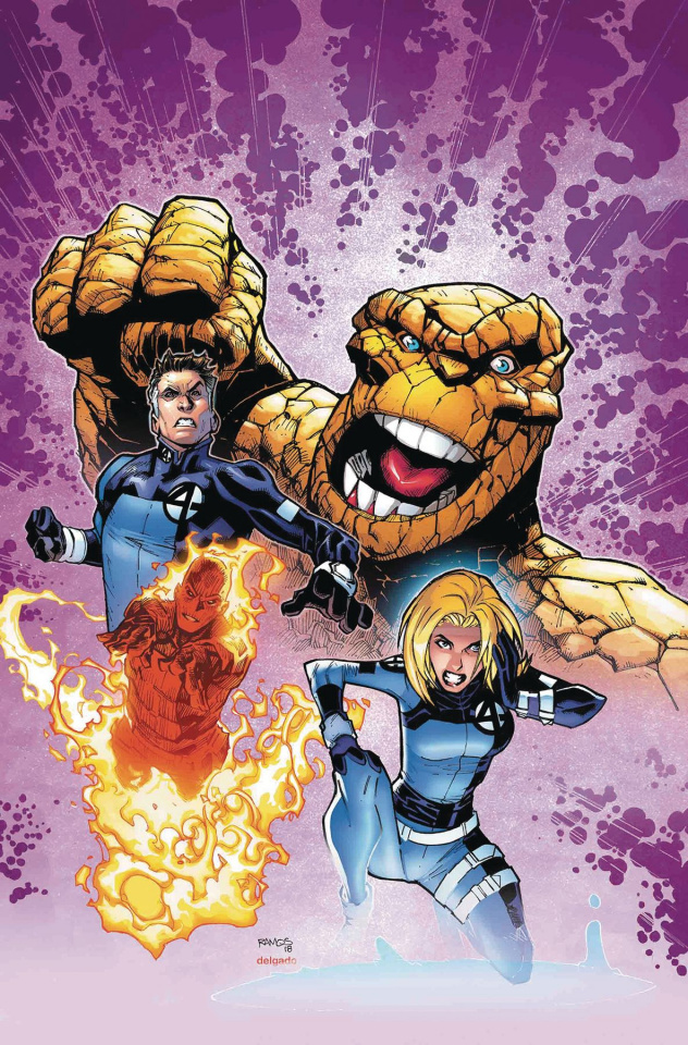 The Life of Captain Marvel #2 (Ramos Return of Fantastic Four Cover)