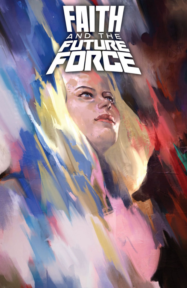 Faith and the Future Force #1 (Djurdjevic Cover)