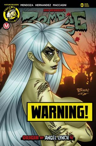 Zombie Tramp #60 (McKay Risque Cover)