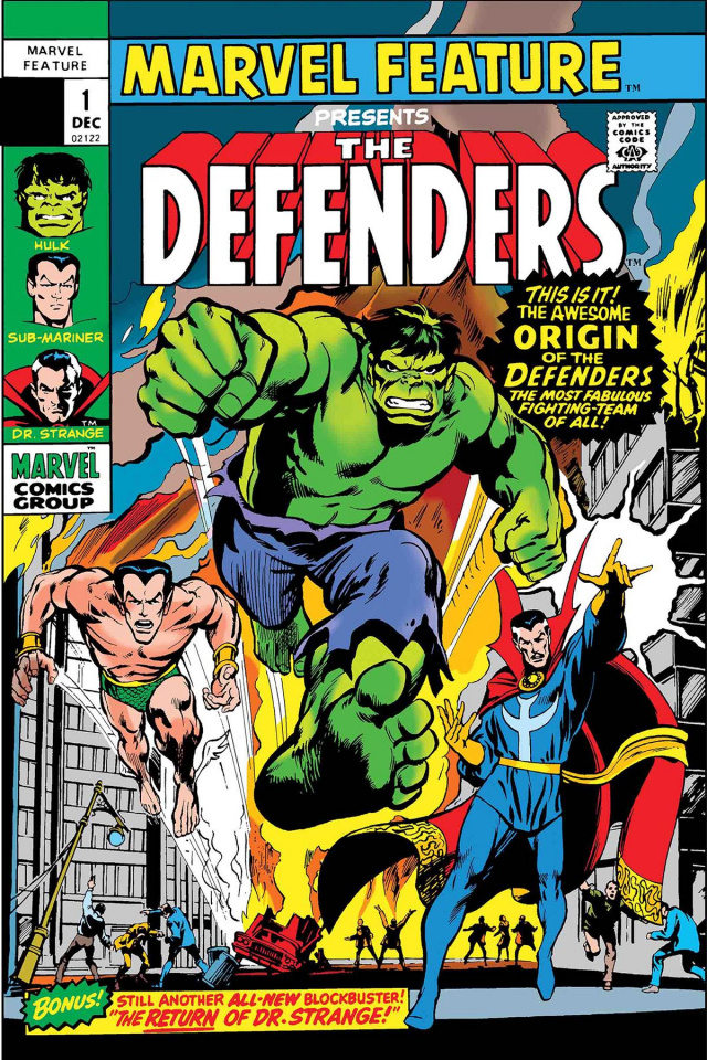 Marvel Feature Presents The Defenders #1 (Facsimile Edition)