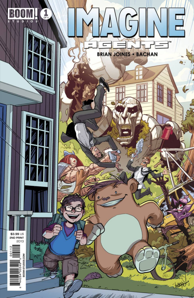 Imagine Agents #1 (2nd Printing)