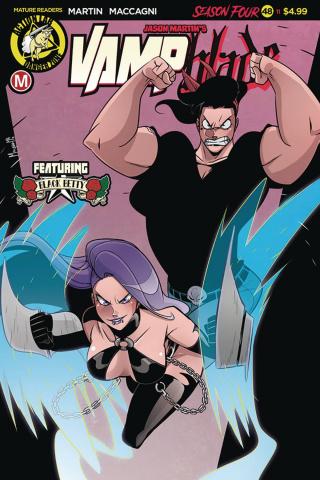 Vampblade, Season Four #11 (Maccagni Cover)