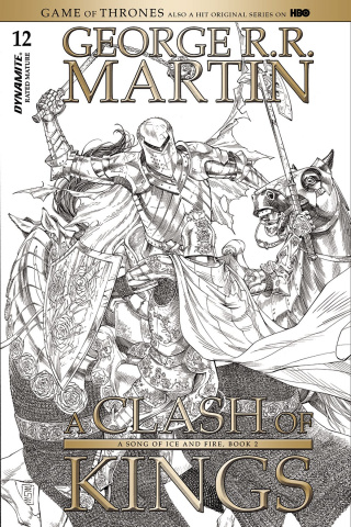 A Game of Thrones: A Clash of Kings #12 (10 Copy Miller B&W Cover)