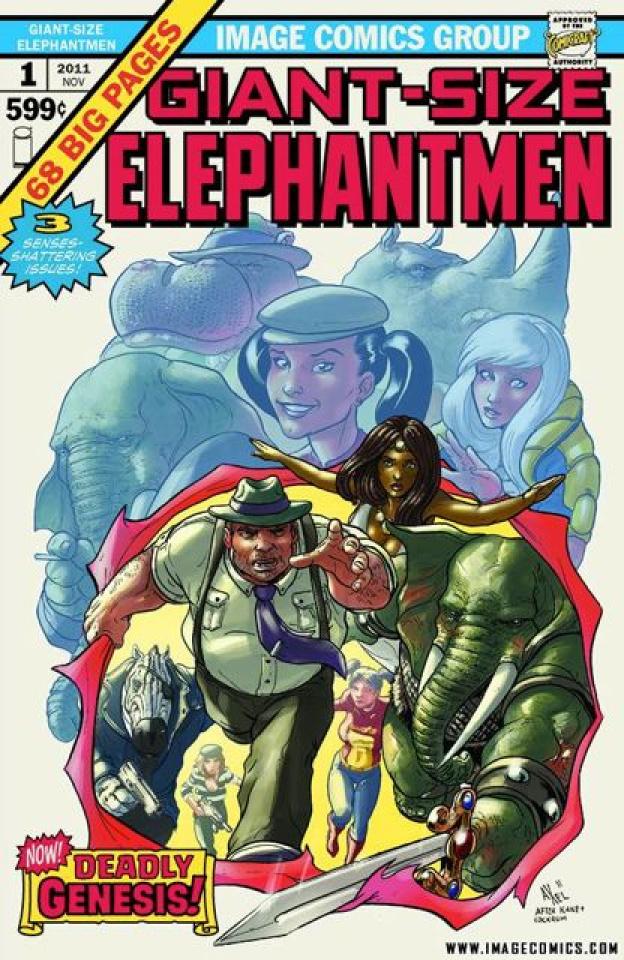 Giant Sized Elephantmen #1