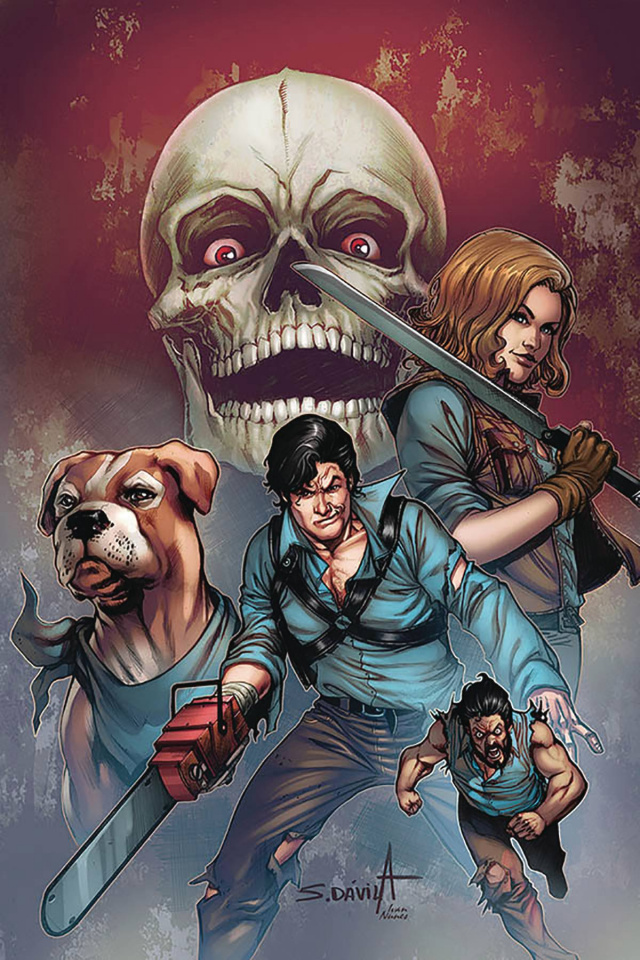 Death to the Army of Darkness #5 (Davila Virgin Cover)
