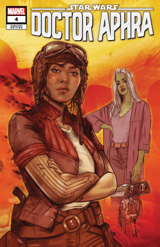 Star Wars: Doctor Aphra #4 (Lotay Cover)