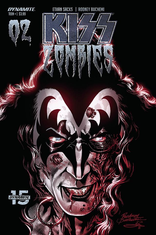 KISS: Zombies #2 (Buchemi Cover)