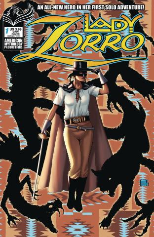 Lady Zorro #1 (Wolfer Cover)