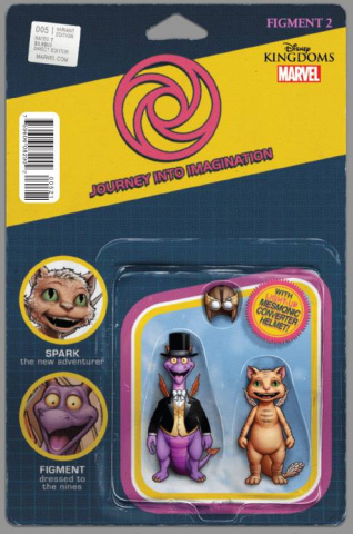 Figment 2 #5 (Christopher Action Figure Cover)