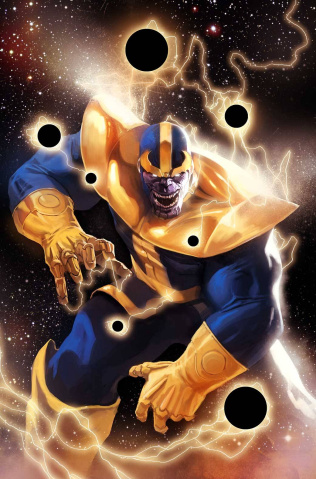 Thanos Rising #1 (Djurdjevic Cover)