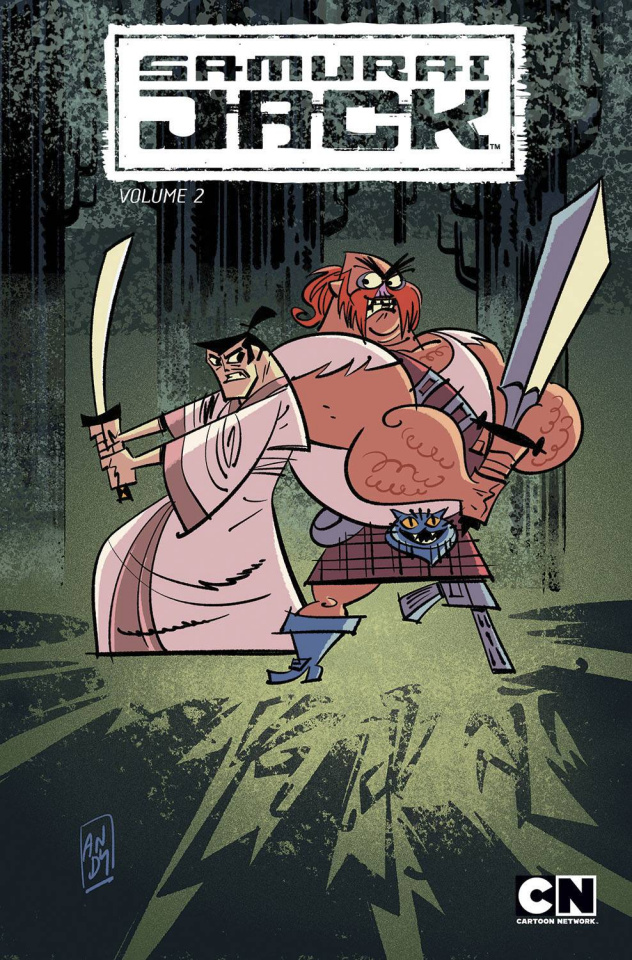 Samurai Jack Vol. 2: The Scotsman's Curse
