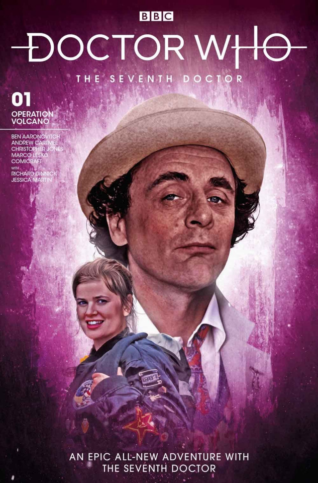 Doctor Who: The Seventh Doctor #1 (Brooks Photo Cover)